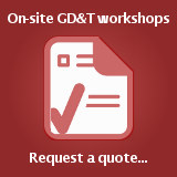Contact TDC to receive a quote for an on-site GD&T workshop